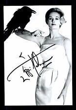 Tippi Hedren + + autógrafo + + + + los pájaros + + Ch 82