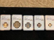 Rhodesia & Nyasaland 5 Coin Set RARE!!