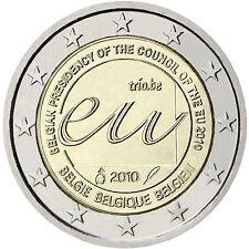 "2 €  Belgien  2010   "" EU Ratsvorsitz ""  STG"
