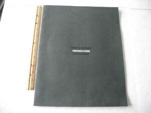 1993 BIGSBY & KRUTHERS SUIT BOOK  MICHAEL JORDAN PHIL JACKSON KEITH MAGNUSON