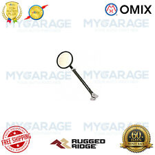 Omix-ADA For 41-68 Fords / Willys Jeeps Door Mirror Kit Arm/Bracket Round Black