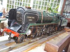 """LIVESTEAM LOCOMOTIVE  3.5"""" GWR  9F   GREAT BUILD - ON DISPLAY FOR SOME YEARS"""