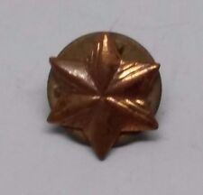 Canadian Copper Star Pin