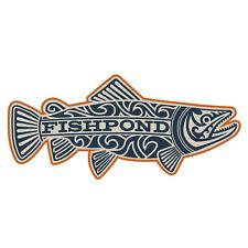 Fishpond Maori Trout Fish Decorative Adhesive Decal Sticker- Overcast