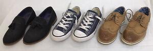 Children's boys shoes bundle job lot of 3 pairs size 12, Converse, Next, loafers