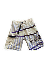 Quiksilver Mens Quicksilver Board Shorts W 32 L 23 Surf Sun Swim