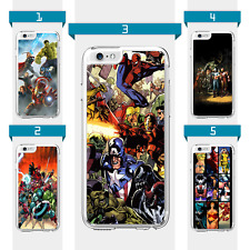 Marvel characters Avengers Superhero Case For iPod Touch 5th 6th 7th Gen