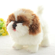 Cute Dog Plush Stuffed Toy 7'' Shih Tzu Anime Mini Simulation Animal Soft