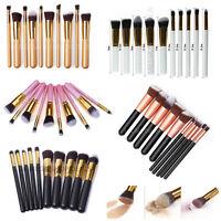 Professional 10x Daily/Foundation Powder Make Up Brushes Blusher Kabuki Contour