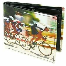 Golunski Cycling Quality Leather Retro Bifold Cyclist Credit Card Wallet - 7-918