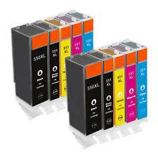 10x Ink Cartridge For Canon Printer IP7250 MG5450 MG5550 MG6350 MG6450 MG7150