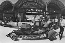 RONNIE PETERSON JPS Lotus 78 brasiliano Grand Prix 1978 Fotografia 2