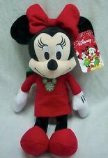 New listing Walt Disney Christmas Holiday Winter Minnie Mouse Plush Stuffed Animal Toy