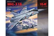 ICM 72151 1/72 MiG-31B Russian Interceptor Fighter