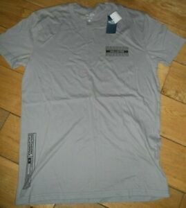 Mens Hollister Tee t-shirt ,  small grey  new with tags  RRP £19