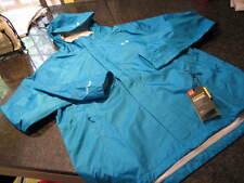 NWT - Ladies UNDER ARMOUR Blue Waterproof Windproof Hooded BORA Jacket (LARGE)