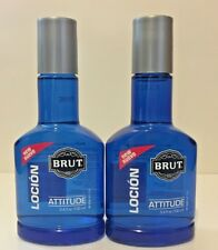 (2) Brut Attitude After Shave Lotion, 3.4 oz each
