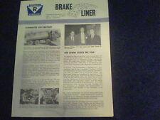 Oct 1965 Rockwell Brake Liner Ashtabula, Ohio newsletter Herman Madden s25