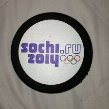10 UNSIGNED 2014 SOCHI OLYMPIC PUCK TEAM SWEDEN USA CANADA RUSSIA FINLAND