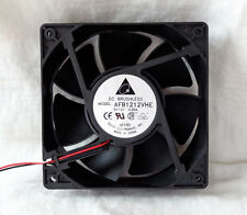 Delta AFB1212VHE 120mm x 38mm Very High Speed Fan 4 Pin Molex 148 CFM NEW