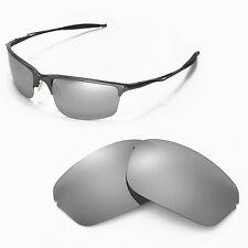 New Walleva Polarized Titanium Lenses For Oakley Half Wire 2.0