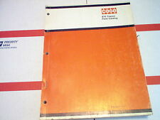 870 Case Agri-King Tractor Parts Catalog No 1171 SN 8675001 & After