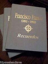 FRANCISCO FRANCO Recuerdos Libro Usado POLITICA Antiguo Edicion 1993 Siglo XX