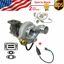 New Turbocharger With Control Solenoid For 04.5-07 Dodge Ram 5.9 Cummins Diesel