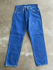 DEADSTOCK '555 Valencia St' Levis LVC 501, sz 34x38 (fits 30.5x33) Made in USA