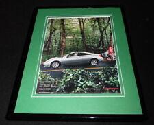 2001 Toyota Celica Framed 11x14 ORIGINAL Advertisement Red Riding Hood