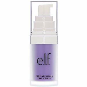 Tone Adjusting Face Primer, Brightening Lavender, 0.47 fl oz (14 ml)