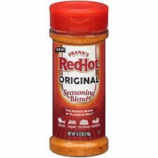 Frank's RedHot Original Seasoning Blend (Hot Sauce Powder) 4.12 oz