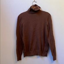H & M SMALL BROWN TURTLENECK SWEATER