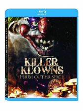 Blu Ray KILLER KLOWNS FROM OUTER SPACE. Region free. New sealed. Clowns.