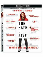 The Hate U Give (4K Ultra HD + Blu-ray * No Digital HD, 2018) w/slipcover, NEW!