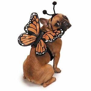 Dog Halloween Costume Monarch Butterfly Pet Dog Harness Zack & Zoey