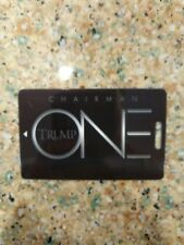 THE TRUMP CHAIRMAN ONE CARD  BLANK no names or #s Collectors Piece FREE SHIP!!!