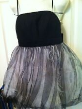 NWT $550 FOREVER UNIQUE FEATHER TUTU PARTY DESS FAIRY COSTUME Size UK 10 USA 4/6