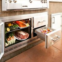 Alfresco BUILT IN Refrigerator ARXE-42 LOWEST PRICES GUARANTEED!