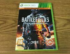 Battlefield 3 - Premium Edition (Microsoft Xbox 360, 2012), Complete & Tested