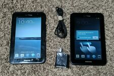 Lot Of 2 Samsung Galaxy Tab 2 SCH-I705 8GB, Wi-Fi + 4G (Verizon), 7in - Black