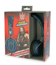 WWE Headphones ROMAN REIGNS Foldable Desgin Suitable for Ages 8+ to Adult