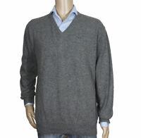 Kappa Size XL Men's V Neck Sweater Pullover Jumper Lamb Wool