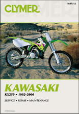 1992-2000 Kawasaki Kx250 Kx 250 Clymer Repair Manual M473 (Fits: Kawasaki)