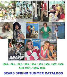 Sears Spring Catalogs on USB Flash Drive [ Years: 1980-1988 & 1991-1993 ]