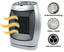 Keramik Heizlüfter A09 für Camping energiesparend Elektro Heizung E Heizer leise