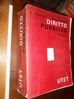 libro : LAVAGNA 1986 UTET Istituzioni Di Diritto Pubblico