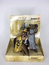 Schleich Knight 70054 Ritter Mit Schwert Auf Pferd Lion Chain mail