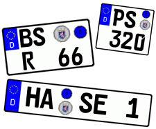 wunschkennzeichen 1/18 1/24 1/43 1/72 1/32 Alles MÖglich Auch Motorrad Nummern..