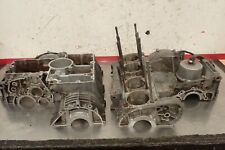 1980 Kawasaki Kz Kz1000 Kz 1000 Crankcase Engine Case Upper Lower Damaged
